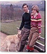 Prince Charles And Lady Diana Acrylic Print