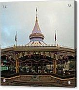 Prince Charmings Regal Carousel Acrylic Print