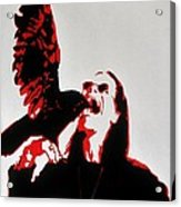 Prince Of Darkness And Friend Acrylic Print
