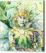 Prince Of Flowers Acrylic Print