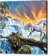 Prince Of The Mountains Acrylic Print