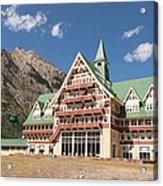 Prince Of Wales Hotel Acrylic Print