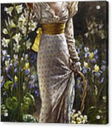 Princess Elvina Of Bavaria Acrylic Print