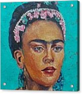 Princess Frida Acrylic Print by Lilibeth Andre