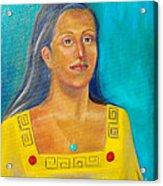 Princess Izta Acrylic Print