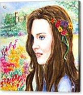 Princess Kate Acrylic Print