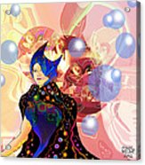 Princess Of Light Acrylic Print