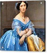 Princesse Albert De Broglie Nee Josephine Eleonare Marie Pauline De Galard De Brassac De Bearn Acrylic Print