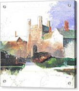 Princeton Blair Hall Acrylic Print