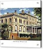 Princeton New Jersey - The Princeton Inn - 1925 Acrylic Print