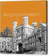 Princeton University - Dark Orange Acrylic Print