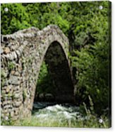 Principality Of Andorra. Pont De La Acrylic Print