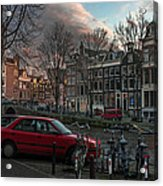 Prinsengracht 791. Amsterdam. Acrylic Print