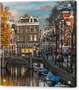 Prinsengracht 807. Amsterdam Acrylic Print