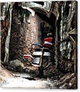 Prison Barbershop Acrylic Print