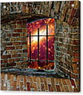 Prison In The Cosmos Acrylic Print