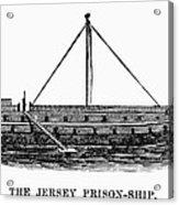 Prison Ship: Jersey Acrylic Print by Granger