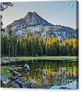 Pristine Alpine Lake Acrylic Print