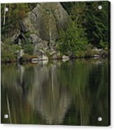 Pristine Reflections Acrylic Print