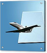 Private Jet Chicago Airplanes 14 Acrylic Print