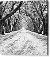 Private Road Acrylic Print