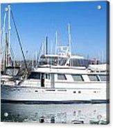 Private Yacht Acrylic Print