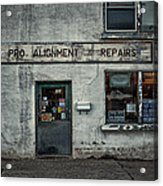 Pro Alignment And Repairs Acrylic Print