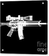Pro Ordnance Carbon Ar15 Acrylic Print