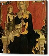 Probably Artista Veneziano, Madonna Acrylic Print by Everett