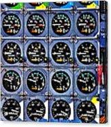 Concorde Controls Acrylic Print