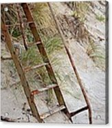 Proceed With Caution Acrylic Print