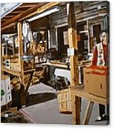 Produce Market Acrylic Print