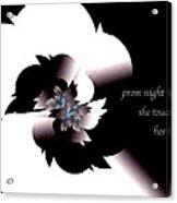 Prom Night Haiga Acrylic Print