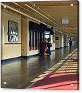 Promenade Deck Queen Mary Ocean Liner 01 Acrylic Print
