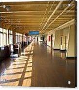 Promenade Deck Queen Mary Ocean Liner 02 Acrylic Print