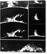 Prominences On The Sun 1937 Acrylic Print