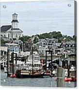 Pronvincetown Harbor Acrylic Print