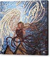 Prophetic Storm Of Angels Acrylic Print