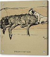 Propitation, 1930, 1st Edition Acrylic Print