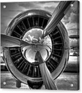 Props And Jet Acrylic Print