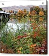 Prosser - Autumn Bridge Acrylic Print