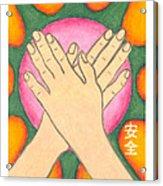 Protection - Mudra Mandala Acrylic Print