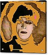Proto Film Noir Conrad Veidt Cabinet Of Dr. Caligari 1919 Collage Screen Capture 2012 Acrylic Print