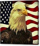 Proud American Acrylic Print
