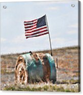 Proud To Be An American Acrylic Print