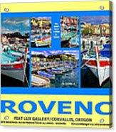 Provence Poster Acrylic Print