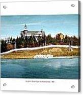 Providence Rhode Island - The Pomham Club - 1906 Acrylic Print
