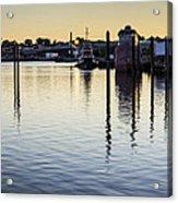 Providence Waterfront Acrylic Print
