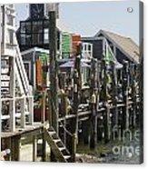Provincetown Docks Acrylic Print