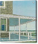Provincetown Porch Acrylic Print